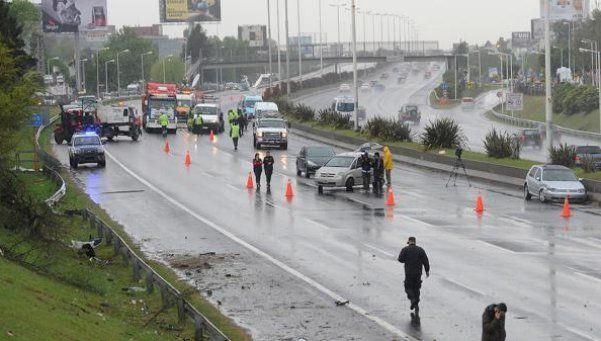 Choque, muerte y caos de tránsito en el Acceso Oeste