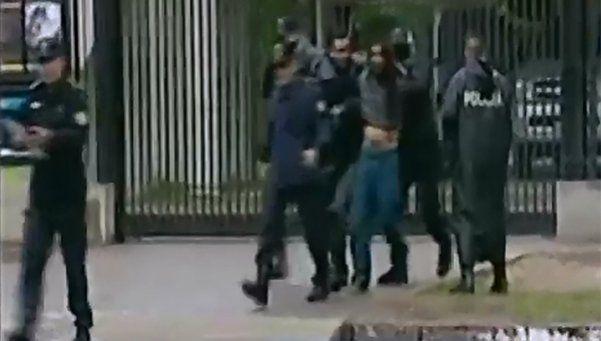 Video | Incidentes y corridas en la previa del clásico de La Plata