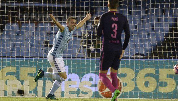 Sin Messi, Barcelona cayó con el Celta de Berizzo y no pudo trepar