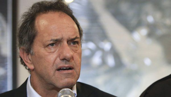 Scioli querría una CGT más firme contra el gobierno