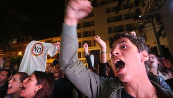 Mesura y sorpresa en el gobierno argentino tras el No en Colombia