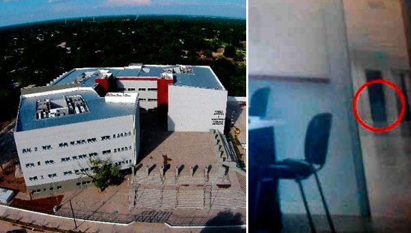 Fantasmas en el nuevo edificio judicial de Tartagal