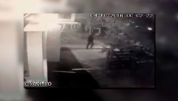 Video | Así entraron a robar al country Abril, de Berazategui
