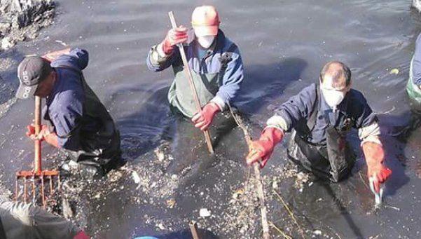 Provincia encaró la limpieza de los arroyos Santa Catalina y Mugica en Lomas