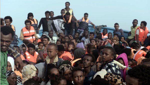 Tragedia en el Mediterráneo: terribles imágenes del naufragio
