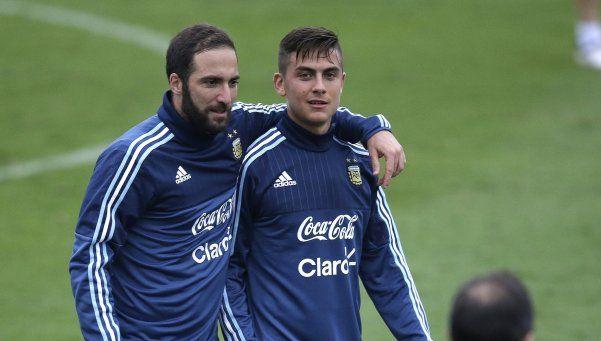 Dybala es el elegido de Bauza para jugar en lugar de Messi