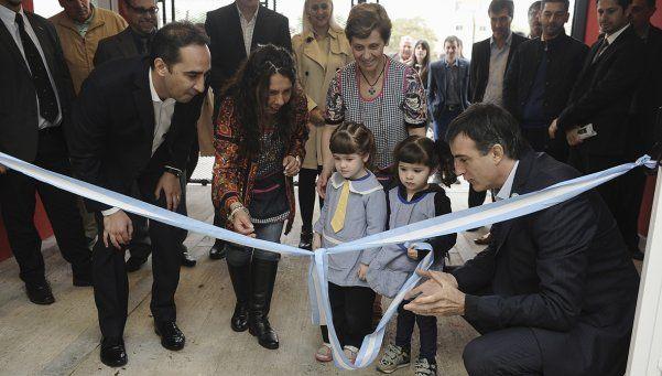 Bullrich y Tagliaferro inauguraron el Jardín Maternal N°1 de Morón