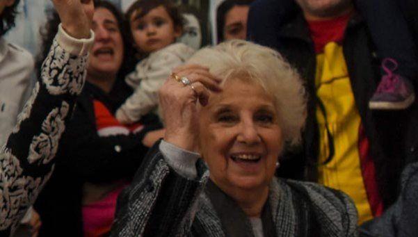 Estela de Carlotto relató la historia del nieto 121