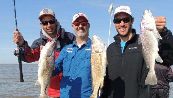 En el cumple de Viva la Pesca, invitamos a Leo Mayer a pescar corvinas