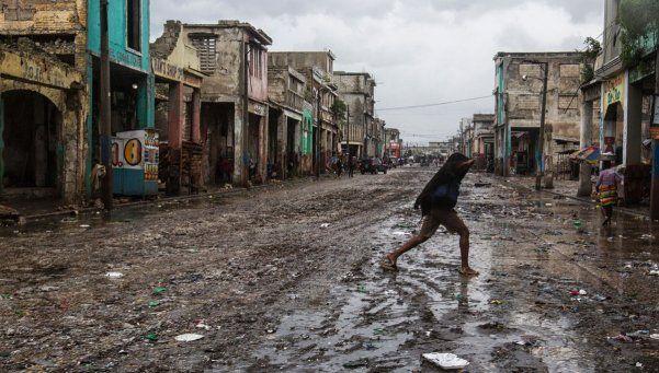 Devastador: el huracán Matthew ya dejó más de 800 muertos sólo en Haití