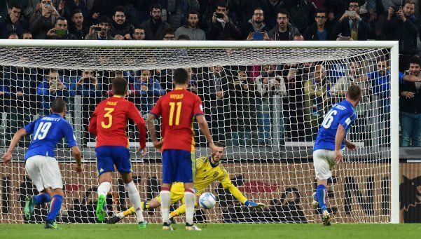 Eliminatorias: Italia igualó con España y Albania les robó la punta