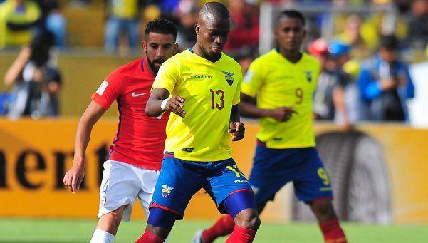 Para Chile la pelota no dobló y fue derrotado por Ecuador