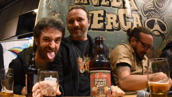 La Vela presentó su Cerveza Puerca