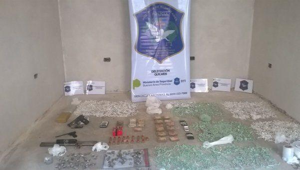 Video | Quilmes: 17 detenidos con drogas y un poderoso arsenal
