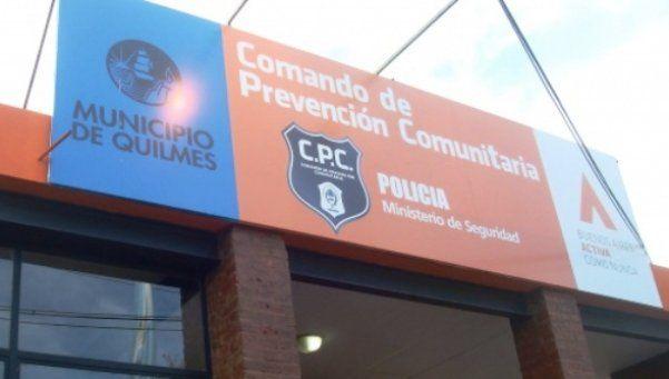 Hasta la policía sufre robos en Quilmes