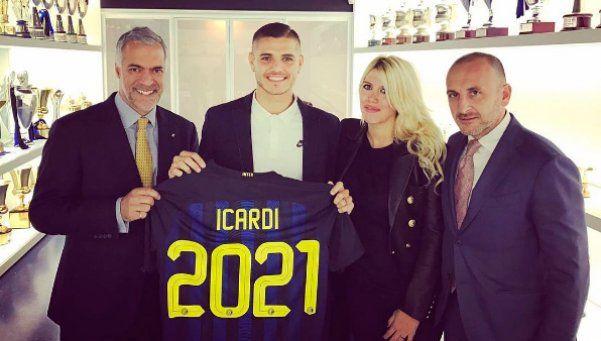 Wanda se plantó y Mauro se convirtió en el tercer mejor pago del Calcio