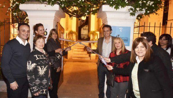 Se inauguró la muestra de Joan Miró en San Martín