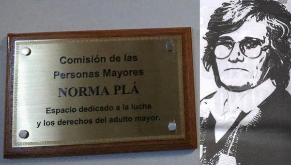 Homenaje a Norma Plá en la Cámara de Diputados
