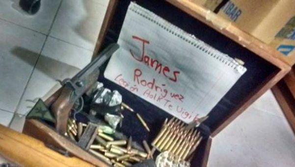 Amenazaron de muerte a James Rodríguez