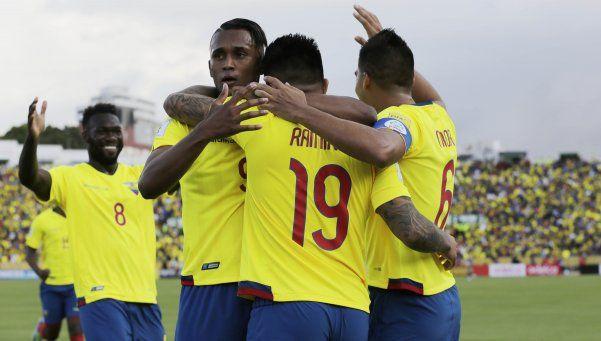 Ecuador derrotó a Venezuela y se afianza en la tabla