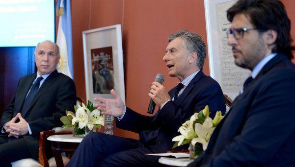 Macri lanzó un portal de datos abiertos sobre la Justicia