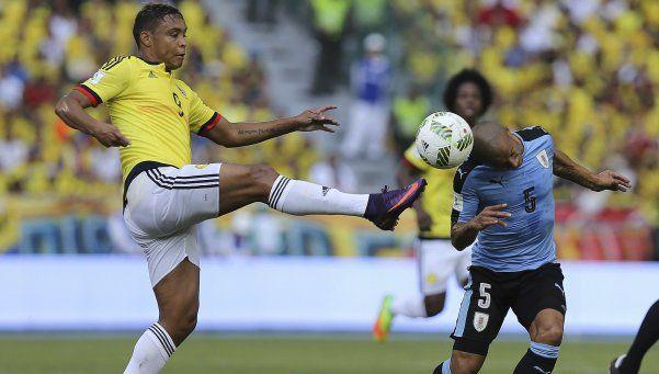 Colombia y Uruguay protagonizaron un emocionante empate