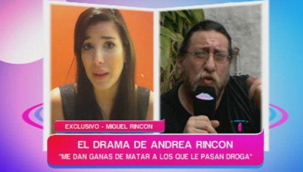 """El papá de Andrea Rincón: """"Está dormida y con suero"""""""