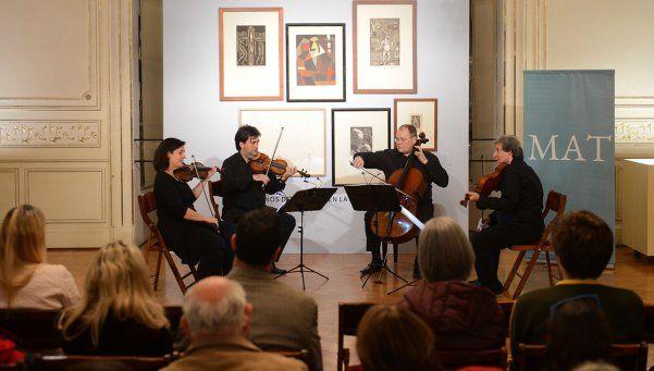 El Cuarteto Sao Paulo mostró todo su talento