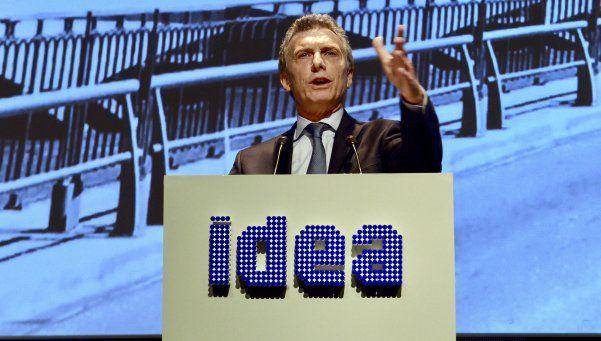 Macri abrió el Coloquio de Idea y pidió compromiso y solidaridad a empresarios