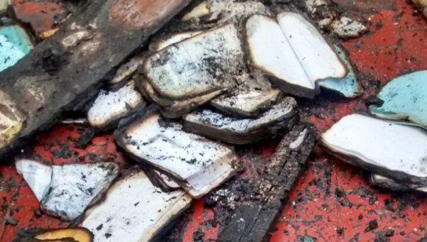 Incendio y amenaza a Vidal en San Martín: los autores conocían bien el lugar