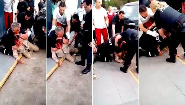 Otra vez el Centro de Operaciones de Tigre: polémica por violento video