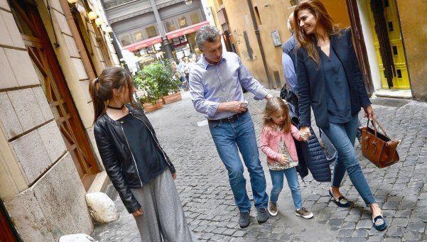 Macri llegó a Roma para ver al Papa