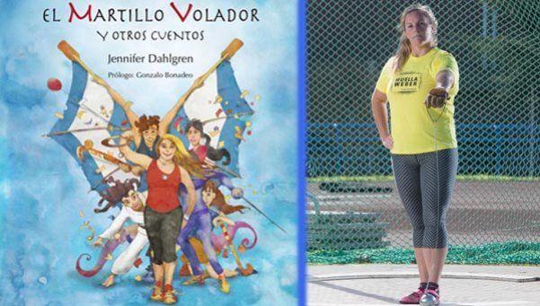 Una deportista olímpica presenta un libro infantil en contra del bullying