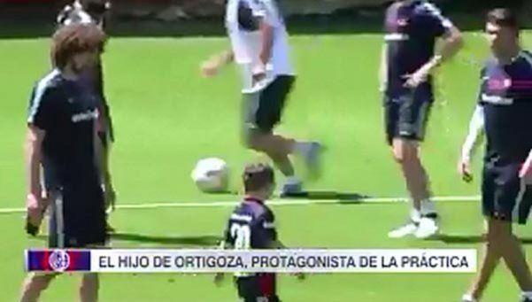 Video | Un intruso muy tierno en el entrenamiento de San Lorenzo