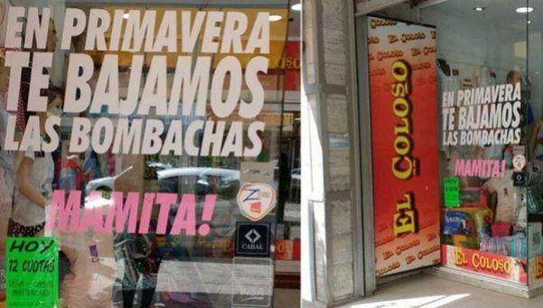 Repudio en Gral Roca: En Primavera te bajamos las bombachas, mamita