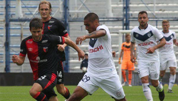 De Felippe debutó en Vélez con un triunfo y le dio aire