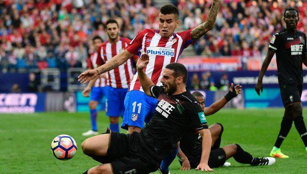 Gaitán y Correa se lucieron en la goleada del Atlético de Simeone