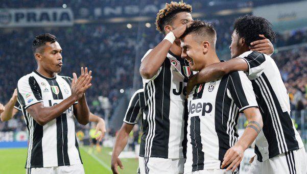 Notable actuación de Dybala en la victoria de Juventus
