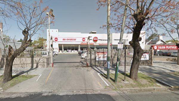 Incendio en un supermercado de Banfield
