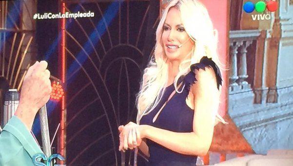 Susana recibió a Luli Salazar, la diplomática hot