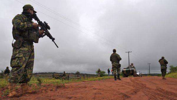 Las Fuerzas Armadas ayudarán a controlar la frontera