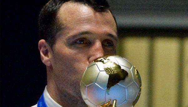 Diego Giustozzi, el técnico que ve al futsal como una forma de vida