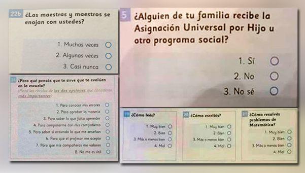 Se filtraron las preguntas de la evaluación Aprender y hay polémica