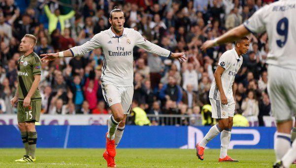 Champions: Real Madrid goleó al Legia Varsovia