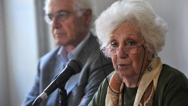 Carlotto: Hay que respetar al Gobierno, pero nunca en silencio