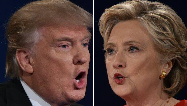 Clinton y Trump, el último debate camino a la Casa Blanca