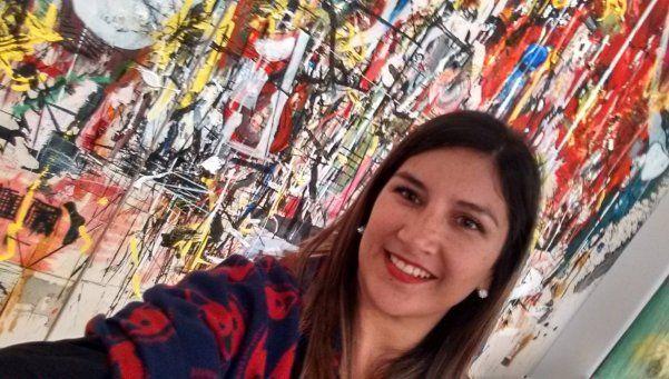 Quién es la artista detrás del símbolo de #NiUnaMenos