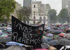 Ocho momentos de la multitudinaria marcha de mujeres