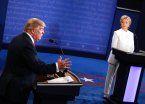 Hillary-Trump, último round con otro debate caliente