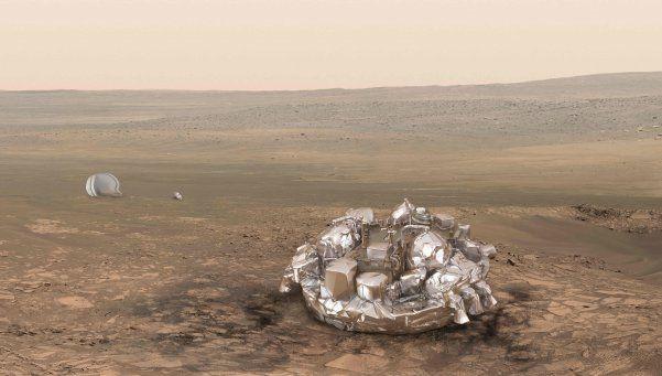 Expectativa mundial por módulo que tocó Marte